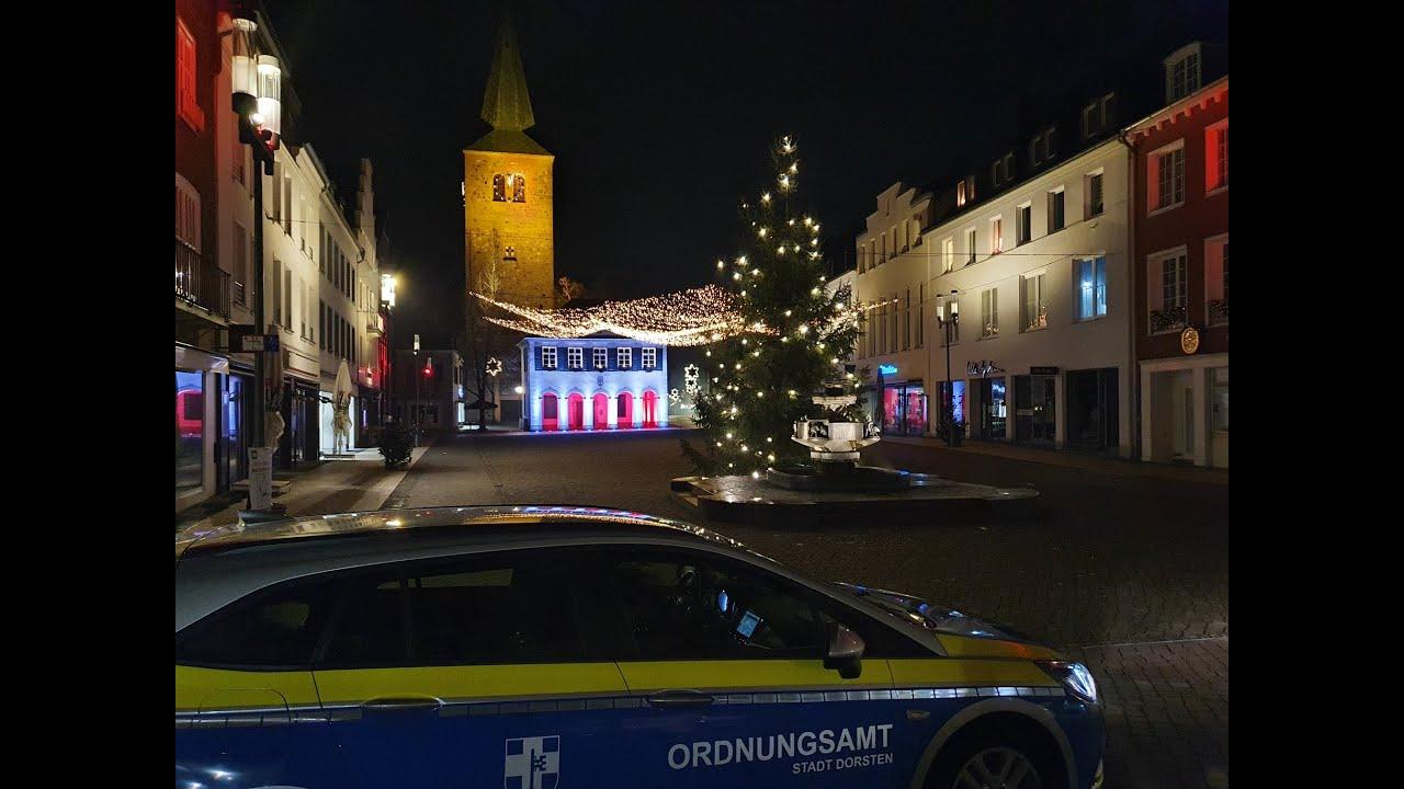 Bürgermeister Tobias Stockhoff zur Silvesternacht 2020 in Dorsten