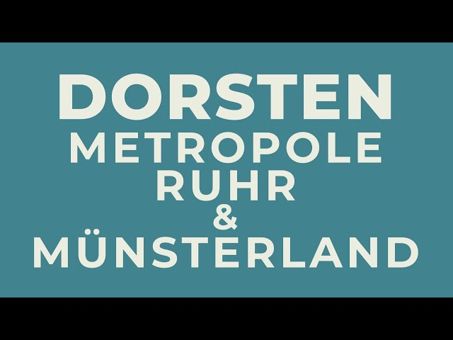 """""""Dorsten hat viele Gesichter"""": Stadtagentur präsentiert neuen Imagefilm"""